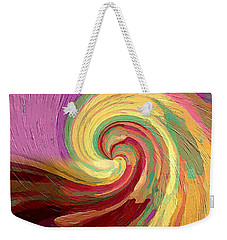 The Consumption Of Fire Weekender Tote Bag