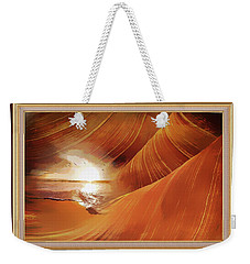 The Desert And The Tide Fantasy Weekender Tote Bag