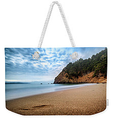Weekender Tote Bag featuring the photograph The Escape- by JD Mims