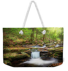 Weekender Tote Bag featuring the photograph The Ethereal Forest 2 by Bill Wakeley