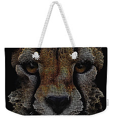 The Face Of A Cheetah Weekender Tote Bag