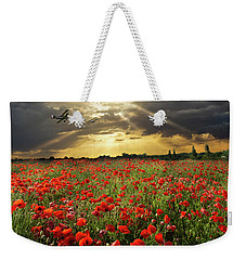 Weekender Tote Bag featuring the photograph The Final Sortie Wwi Version by Gary Eason