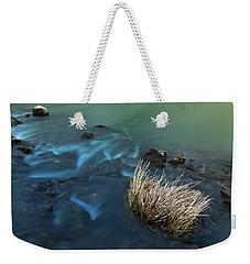 The Flow Of Time Weekender Tote Bag