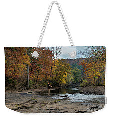 The Flyfisherman Weekender Tote Bag