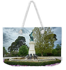 The Fountain Of The Fallen Angel In Madrid Weekender Tote Bag