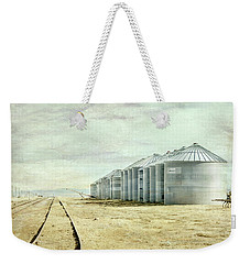 The Grain Bins At Taber Weekender Tote Bag