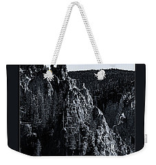 Weekender Tote Bag featuring the photograph The Grand Canyon Of The Yellowstone by Pete Federico