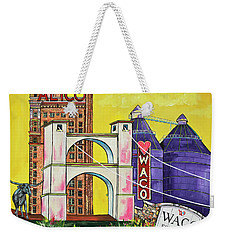 The Heart Of Waco Weekender Tote Bag