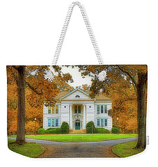 The Hoge Building At Berry College Weekender Tote Bag