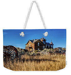 Weekender Tote Bag featuring the photograph The House by Pete Federico