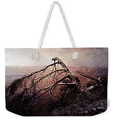 Weekender Tote Bag featuring the photograph The Invisible Force by Randi Grace Nilsberg