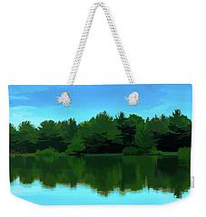 The Lake Weekender Tote Bag