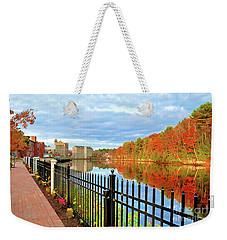 The Lamprey River Weekender Tote Bag