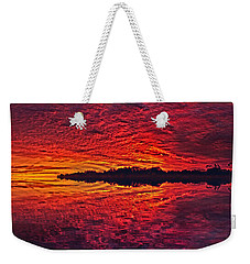 Weekender Tote Bag featuring the photograph The Last Chapter by Phil Koch