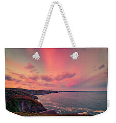 The Lizard Point Sunset Weekender Tote Bag