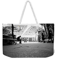 Weekender Tote Bag featuring the photograph The Loner- by JD Mims