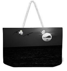 The Long Flight Weekender Tote Bag