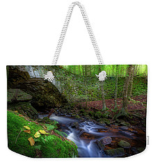 Weekender Tote Bag featuring the photograph The Lost Bridge by Bill Wakeley
