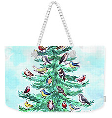 The Magical Christmas Tree Weekender Tote Bag
