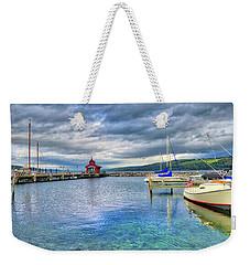 Weekender Tote Bag featuring the photograph The Marina At Seneca Lake - Finger Lakes, New York by Lynn Bauer