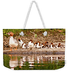 The Merganser Team Weekender Tote Bag