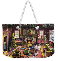 The Micey Christmas Heisty Weekender Tote Bag
