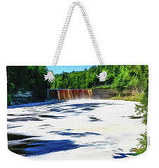 The Mighty Tahquamenon Weekender Tote Bag