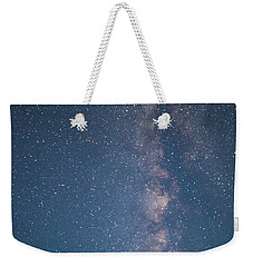 Weekender Tote Bag featuring the photograph The Milky Way In Arizona by Mark Duehmig