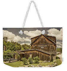 Weekender Tote Bag featuring the photograph The Mill Tavern by Guy Whiteley