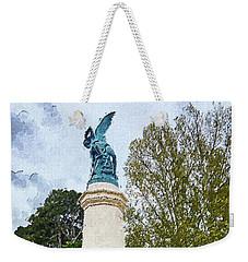 The Misery Of The Fallen Angel Weekender Tote Bag