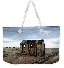 The Net Shack, Dungeness Beach Weekender Tote Bag