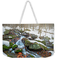 Weekender Tote Bag featuring the photograph The November Forest by Bill Wakeley