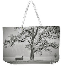Weekender Tote Bag featuring the photograph The Old Oak by Edmund Nagele