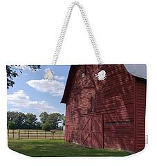The Old Red Barn Weekender Tote Bag