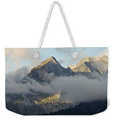 Weekender Tote Bag featuring the photograph The Ossau Valley  by Stephen Taylor