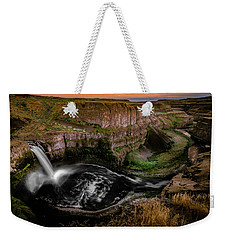 Weekender Tote Bag featuring the photograph The Palouse by Francisco Gomez