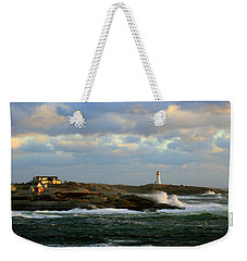 The Peggy's Cove Seascape Weekender Tote Bag