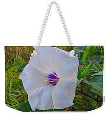 The Perfect Flower - Sacred Datura Weekender Tote Bag
