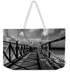 Weekender Tote Bag featuring the photograph The Pier #2 by Stuart Manning
