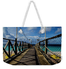 Weekender Tote Bag featuring the photograph The Pier #3 by Stuart Manning