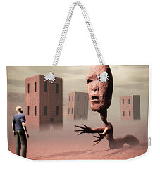 The Politician And I Weekender Tote Bag