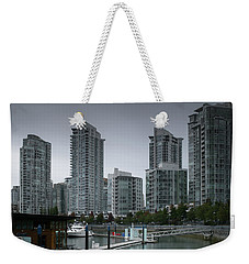 The Quayside Marina - Yaletown Apartments Vancouver Weekender Tote Bag