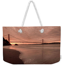 Weekender Tote Bag featuring the photograph The Rising- by JD Mims
