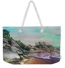 The Rising Tide Montage Weekender Tote Bag