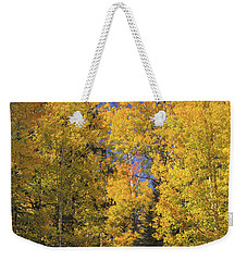 Weekender Tote Bag featuring the photograph The Road A Little Less Traveled by Rick Furmanek