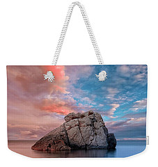 The Rock And The Sea Weekender Tote Bag