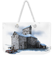 The Ross Elevator Winter Weekender Tote Bag