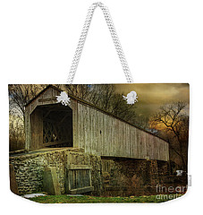 The Schofield Ford Covered Bridge Weekender Tote Bag
