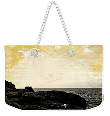 Weekender Tote Bag featuring the photograph The Sea   by Lucia Sirna