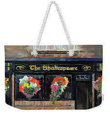 The Shakespeare Weekender Tote Bag